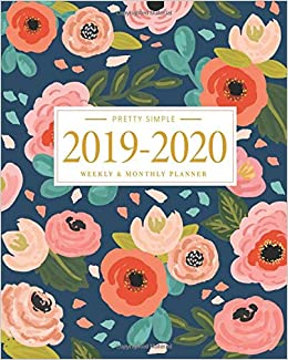 Pretty Simple Planners 2019 - 2020 Planner Weekly and ...