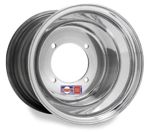 Douglas Wheel Red Label Wheel - 10x5 - 3+2 Offset - 4/110 , Bolt Pattern: 4/110, Rim Offset: 3+2, Wheel Rim Size: 10x5, Color: Aluminum, Position: Front/Rear 006-23 by Douglas (Red Douglas Label Rims)