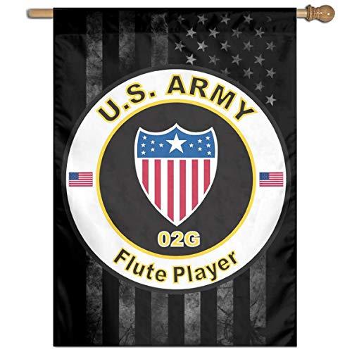 - AnleyGardeflagsU Army MOS 02G Flute Player Family Party Banner Flags Springtime 27