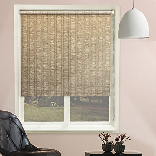 Chicology 36-Inch by 68-Inch Florence Roller Shade, Latte by CHICOLOGY