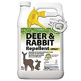 Harris New Natural Deer & Rabbit Repellent, Long Lasting Fresh Scent Formula, 128oz
