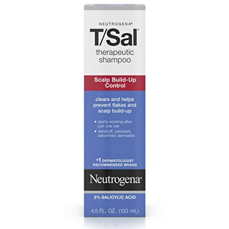 Neutrogena T/Sal Shampoo Scalp Build Up Control, 133ml