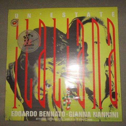 Edoardo Bennato & Gianna Nannini – Un' Estate Italiana -Official Song of Fifa World Cup Italy 1990 - (Italy 1990 World Cup)