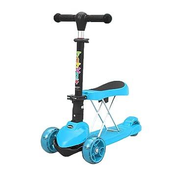 Patinete- Scooter Plegable para Niños Pequeños 3 En 1 ...