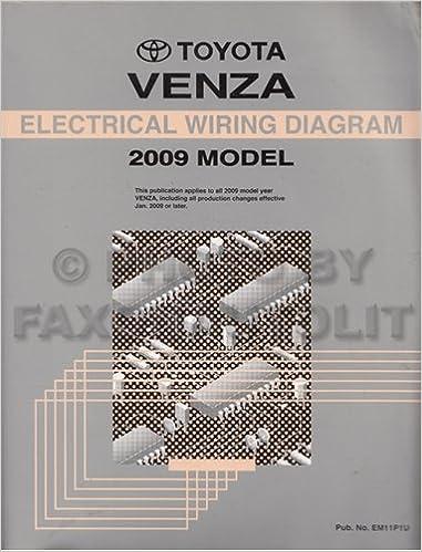 2009 Toyota Venza Wiring Diagram Manual Original: Toyota: Amazon.com