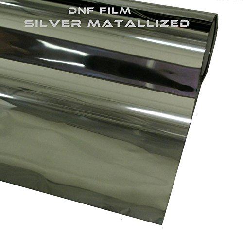 DNF 2 PLY Mirror Silver Metallic 5% 60