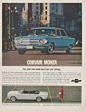 1963 CHEVROLET CORVAIR MONZA 4-Door SEDAN & CONVERTIBLE