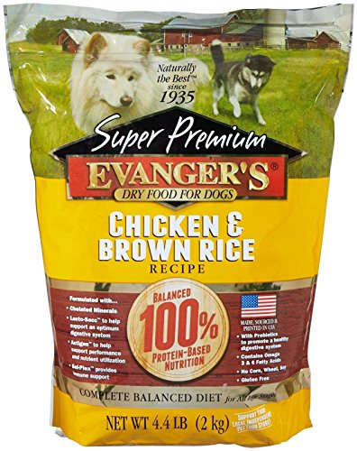 ium Dog Food Chicken with Brown Rice 4.4 lbs (Rice 4.4 Lb Bag)