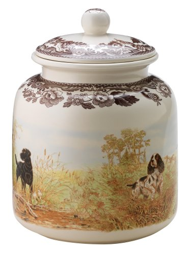 - Spode Woodland Hunting Dogs, Dog Treat Canister