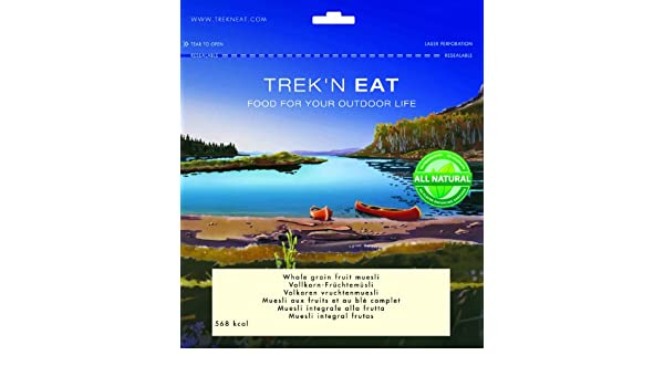 TreknEat Vollkornfrüchtemüsli, 1er Pack (1 x 150 g): Amazon.com: Grocery & Gourmet Food