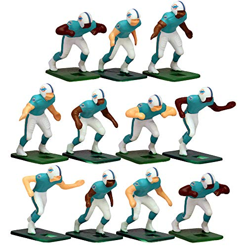 Miami Dolphins Home Jersey NFL Action Figure Set ()