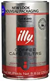 Illy Caffe Coffee - Ground Coffee - Medium Roast for Drip Coffeemakers - 8.8 oz - Case of 6
