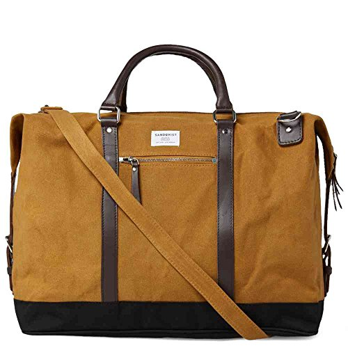 Sandqvist Jordan Weekend Bag - Waxed Khaki by Sandqvist