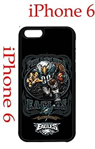 Philadelphia Eagles iPhone 6 Plus 5.5 Case Hard Silicone Case by runtopwell