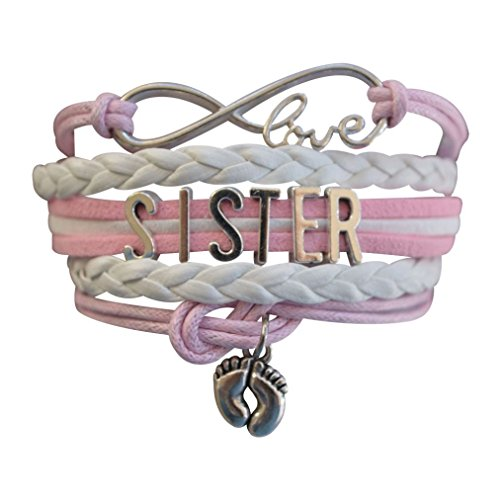 Sister Bracelet -Sister Jewelry- Sister Charm Bracelet, Big Sister Bracelet for Girls- Perfect Gift for Sisters