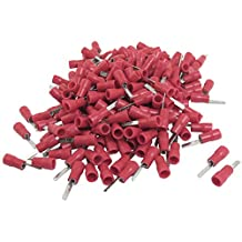 240 Pcs DBV1.25-10 Red Boot Electronic Wire Insulated Crimp Terminals