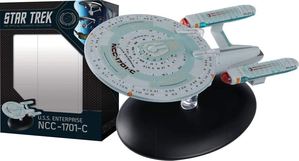 Star Trek The Official Starships Collection #10: USS Enterprise NCC-1701C Ship Replica