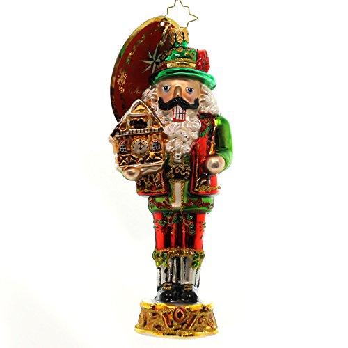 - Christopher Radko Bavarian Cracker Nutcracker Christmas Ornament