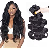 SiJi Mei Brazilian Hair 3 Or 4 Bundles Body Wave Human Hair Unprocessed Extensions body wave natural color 300g-400g Mixed Length