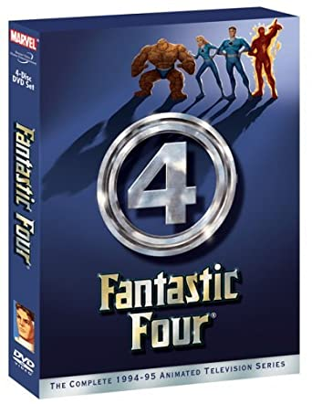 amazon com fantastic four comp 1994 1995 animated tv series dvd