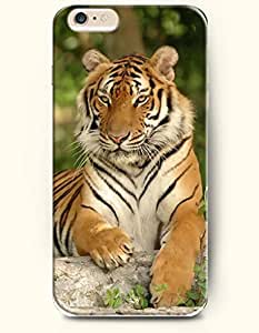 OOFIT iPhone 6 Case ( 4.7 Inches ) - Tiger Lying on the Stone