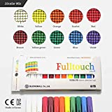 HAGOROMO Fulltouch Color Chalk 1 Box [12 Pcs/10