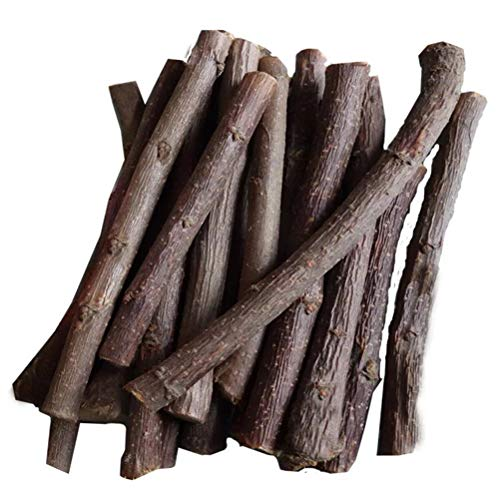 VORCOOL 100pcs Log Natural Small Wooden Sticks Tree Sticks for DIY Crafts Photo Props(2 Inch Long 0.2 Inch in Diameter) (Twig Log Bed)