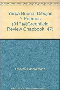 Yerba Buena: Dibujos Y Poemas: Sandra Maria Esteves