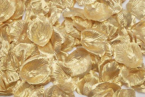 Darice RC-7209-101 Loose Petals, 100-Piece, Gold