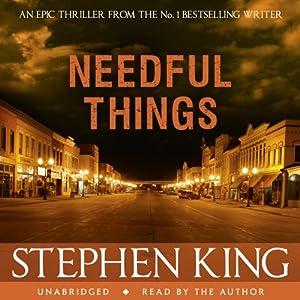 Needful Things Audiobook