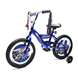 CHROMEWHEELS BMX 16'' Kid's Bike for 4-6 Years old, Bicycle for Boys, EVA Tires with Training Wheels & Coaster Brake, Color Blue
