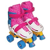 Hello Kitty Adjustable Quad Roller Skate, Size 1-4 by Hello Kitty