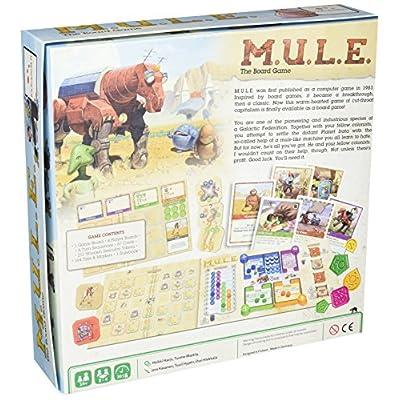 M.U.L.E. The Board Game: Toys & Games