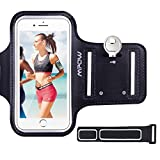 iPhone 8 Armband, Mpow Sports Running Armband (with Reflective Strap + Key Holder) Phone Holder for Running Jogging Training Sports Armband Compatible with iPhone 7/6 / 6s (4.7 inch) for Gym Training, Cycling, Biking, Hiking, Horseback Riding