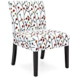 Cheap Best Choice Products Upholstered Accent Chair w/Floral Patterns (Multicolor)