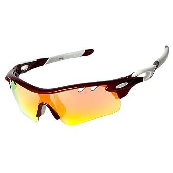 VILISUN Gafas de Ciclismo Sol DeportiGafas de Sol Deportivas Polarizadas,UV 400 Protección Gafas Deportivas