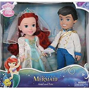 Amazoncom Disney Princess Wedding Bells Ariel Prince Eric