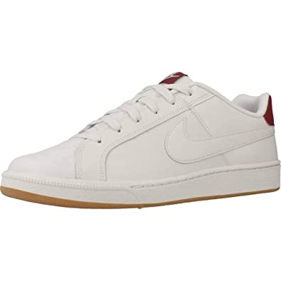 online store 28fd9 fbb57 Nike Men s Court Royale Tennis Shoes, Multicolour Platinum Tint Team Red  000, ...