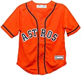 OuterStuff Houston Astros Alternate Orange Preschool Jersey
