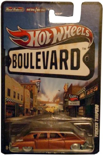 2012 Hot Wheels Boulevard Ahead of its Time TUCKER TORPEDO 1:64 Scale Diecast Real Riders (Tucker Torpedo)