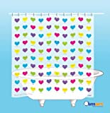 """""""I Love You"""" in 100 Languages Shower Curtain"""