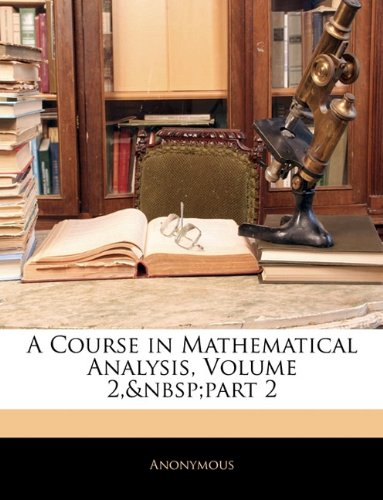 Download A Course in Mathematical Analysis, Volume 2, part 2 pdf