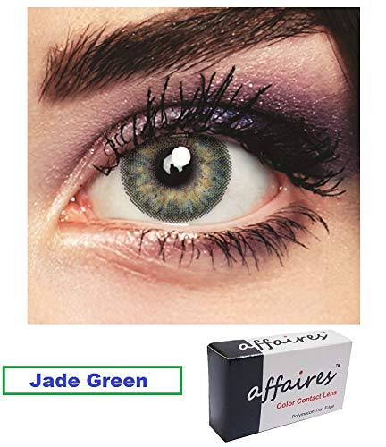 Affaires Quarterly (3 Monthly) Color Contact Lens Zero Power (Midnight Blue)