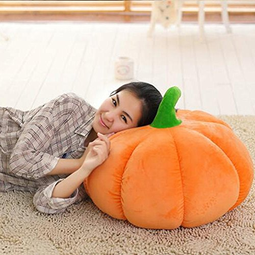 Halloween Clearance, Pumpkin Pillow Doll Plush Toy Devil Halloween Decor Cushions (40cm) -