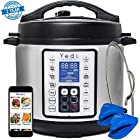 7-in-1 Multi-Functional Pressure Cooker, 6Qt/1000W by Yedi Houseware
