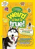 Weird But True Cool and Crazy Sticker Doodle Book