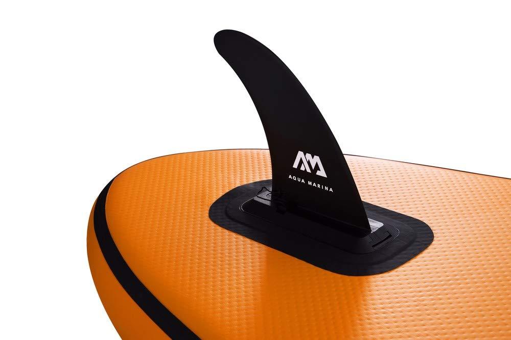 Pump /& Leash Kit Stand Up Paddle Board inc Paddle 3.15M 2019 Aqua Marina Fusion Inflatable SUP iSUP 10ft Backpack