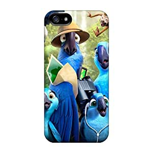 Anti-scratch And Shatterproof Rio 2 Movie Phone Case For Iphone 5/5s/ High Quality Tpu Case