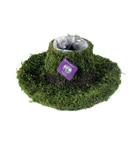 - SuperMoss (55570) Moss Cowboy Hat Planter, Fresh Green, Large
