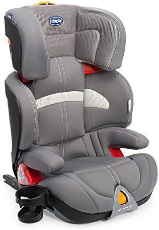 Chicco Oasys 2-3 FixPlus, Silla de coche grupo 2/3, gris: Amazon ...